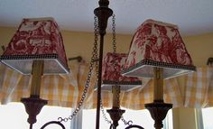 The Comforts of Home: Toile Party!!