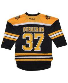 Reebok Kids  Patrice Bergeron Boston Bruins Replica Jersey - Black 5 6  Patrice Bergeron b460f8ec8