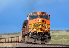 RailPictures.Net Photo: BNSF 5645 BNSF Railway GE AC4400CW at Spruce, Colorado by Joe Blackwell