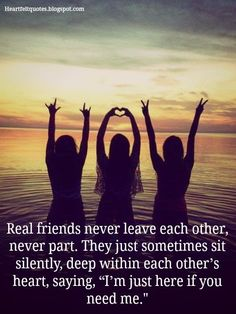 Are you searching for real friends quotes?Check out the post right here for cool real friends quotes ideas. These hilarious quotes will make you enjoy. Three Best Friends Quotes, Besties Quotes, Best Friends Forever, Bffs, Bestfriends, Forever Friends Quotes, Crazy Friends, Fake Friends, Sister Quotes