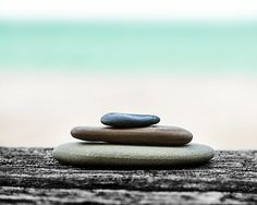 Cairn Rock Stack, Ocean photography, Zen, Balance, blue cyan, Sand, Summer Landscape, Beach Home Decor, Cottage Art, 8x10 Calm Zen Photo