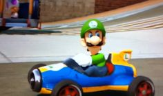Riding Dirty: Luigi's Evil Side From The New Mario Kart
