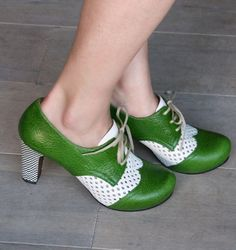 I think I would wear these Spring Green Chie Mihara shoes every day of the year