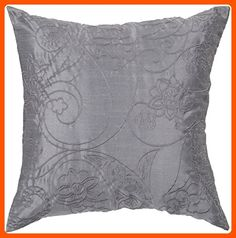 "Candice Olson by Surya BCO-509 Machine Made 100% Polyester Slate Blue 18"" x 18"" Decorative Pillow - Improve your home (*Amazon Partner-Link)"