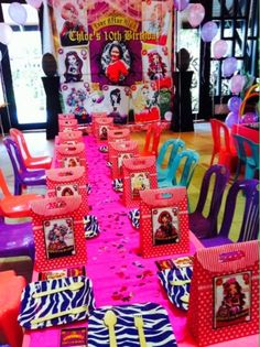 Fabulous Party Planner (002081333-D) | Kuala Lumpur, Malaysia: Ever After High Party for Chloe