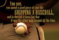 take this picture of one of the boys holding a baseball, with quote & print onto canvas for sports room