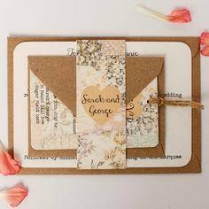 POCKETFOLD M 30x Einladungskarten Set Hochzeit | Einladungskarten, Dawanda  Und Hochzeit