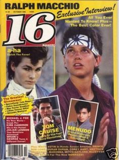 Teen magazine from the 80s