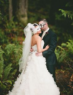 A New Year's Eve MASQUERADE Wedding-YES!