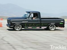 Truckin Throwdown Performance Competition 1967 Ford F100 Side View