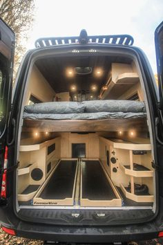 Van conversion company based out of Bellingham that outfits Mercedes Sprinter and Ford Transit Vans into off grid tiny living spaces Mercedes Sprinter Camper, Vw Lt Camper, Mercedes Camper Van, Build A Camper Van, Travel Camper, Transit Camper, Van Conversion Build, Van Conversion Layout, Van Conversion Interior