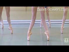 Vaganova Ballet Academy. Exercises on pointe, Classical Dance Exam. Girls, 5th class. December 2015 - YouTube