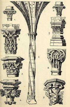 Gothic style columns                                                                                                                                                                                 Más