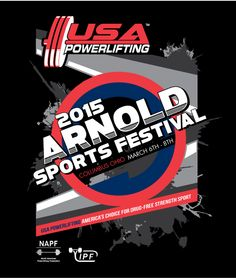 2015 Arnold sports festival ticket by Max The Body club.