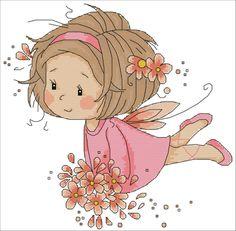 Gallery.ru / Pink Fairy - Establece Myline Alfombra - MylineRug