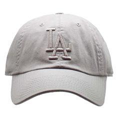 d4941f06d4d American Needle Los Angeles Dodgers Tonal Ballpark Raglan Baseball Hat in  Grey Dodger Hats