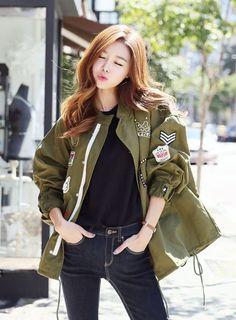 Korean Fashion Woman #KoreanFashion