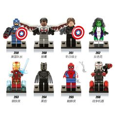 Blocks Back To Search Resultstoys & Hobbies Intelligent 50pcs Marvel Avengers Infinity War Erik Killmonger Superman El Dorado Lobo Spiderman Boomer Ang Building Block For Children Toys