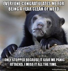It'd be pretty sweet if it affected me normally again.