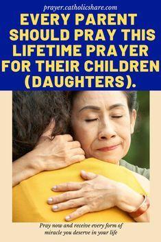 For every parent and potential parents: A prayer for my daughter. #daughter #Parent #God #Jesus #catholicfaith #October2020 #Prayerinspiration #Powerful Prayer For Work, Prayer For Parents, Prayer For My Children, Prayer For Family, Prayers For My Daughter, Mom Prayers, Everyday Prayers, Prayers For Strength, Catholic Prayer For Healing