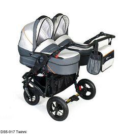 Otroški voziček Dorjan za dvojčke