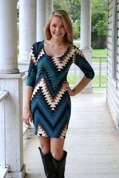 Love love love sweater dresses with a cute pair of boots!