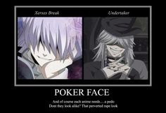 The Undertaker and Xerxes Break | Tags: Anime, SQUARE ENIX, Kuroshitsuji, Pandora Hearts, Xerxes Break ...