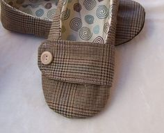 """How to Make Shoes PDF Sewing Pattern Soft Soled Vegan by shoeology, $15.00  This might be good for """"inside shoes"""" for my daughter's montessori class."""