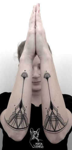 Mirja Fenris Tattoo #ink #tattoo