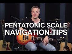 Pentatonic Scale Navigation Tips - Lead Guitar Lesson - YouTube