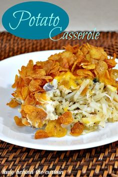 This Potato Casserole is a family favorite and I hope it will become your families too!