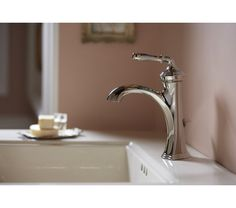 Kohler Faucet, Bathroom Sink Faucets, Bathroom Fixtures, Faucet Handles, Plumbing Fixtures, Small Bathroom, Bathrooms, Bathroom Ideas
