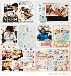 Project Life   Week 15 & Week 18Hey there! I'm back and I can't wait to share my PL spreads with you again. :) With the reveal of Studio Calico Roundabout kits just a few days ago, I've been trying to squeeze some time to come in here but life have been busy as always. Nonetheless, I hope…
