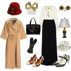 downton abbey style; timeless pieces that could be worn today.