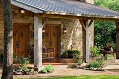 Ideas pole barns, pole barn homes, barn style homes, porch posts, met Building A Porch, Building A House, Building Homes, Barn Living, Living Room, Pole Barn Homes, Barn Style Homes, Pole Barns, Enchanted Home