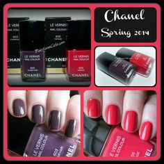 Chanel Spring 2014: Charivari and Tapage - Swatches, Review and Comparisons | Pointless Cafe