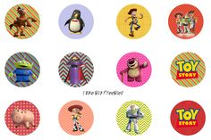 Toy Story bottlecap images