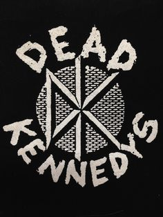 Dead Kennedys Band Patch General Cloth Screen Printed Patch Info: Printed on high quality black canvas/cloth with white ink, or white canvas/cloth with black ink depending on availability. If you have
