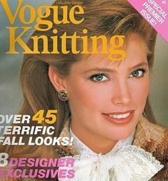 Kelly Emberg Vogue Knitting, Knitting Books, Knitting Projects, Kelly Emberg, Knitting Magazine, Knitting Accessories, Any Book, Knitted Bags, Double Knitting