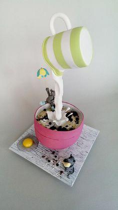 recette gravity cake modèle insolite idée décoration gâteau petite fille