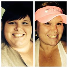 This is Feb to now, wrapped and takes Thermofit and fat fighters religiously, eats clean and down 41 lbs! Isn't she awesome!! (Way to go Sara!!)