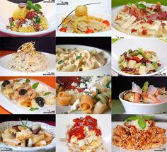 Doce recetas con pasta corta