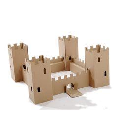 Château fort en carton Paperpod