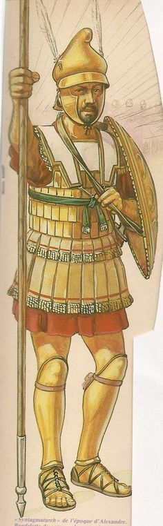 Syntagmatarchis, ufficiale subalterno della falange macedone - IV sec. Greek History, Ancient History, Macedonia, Greek Soldier, Greek Antiquity, Hellenistic Period, Sword And Sorcery, Medieval Armor, Alexander The Great