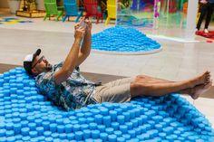 The Oasis — The Urban Conga Valencia Beach, Westfield Mall, Organic Water, Design Firms, Oasis, Beach Mat, Outdoor Blanket, Urban, Pop