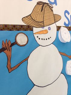 Teaching Tales Along the Yellow Brick Road: Winter Interactive Bulletin Board