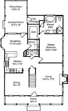 Mitch ginn lake house plan for russell lands at lake for Cajun cottage house plans