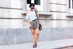 Khaki & Stripes | Chicisimo