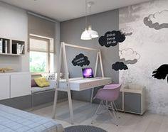 pokój małej damy - Średni pokój dziecka dla dziewczynki dla malucha, styl nowoczesny - zdjęcie od A2 STUDIO pracownia architektury