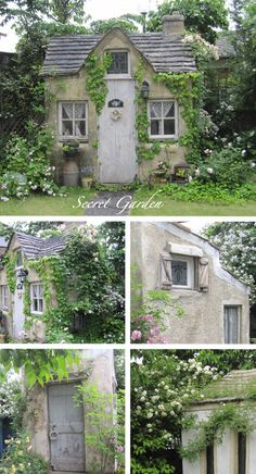 Charming cottage. So much character, stone secluded climbers ....